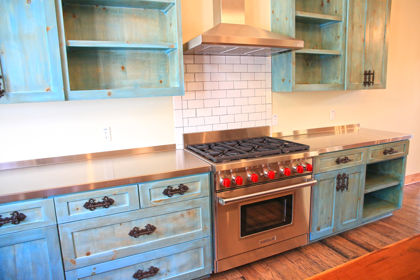 Awesome Turquoise Kitchen Cabinets - Taste